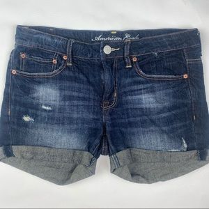 American Eagle Roll Up Shorts
